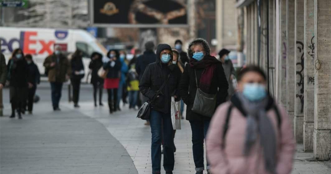 Bucureștiul intră în scenariul roșu: Rata de infectare a trecut de 3 la mia de locuitori