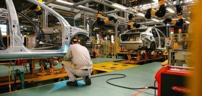 Producția de autoturisme în România în primele 9 luni din 2021