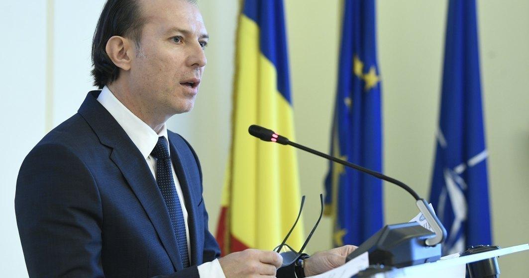 Florin Cîţu a cerut amânarea plăţii ratelor la bănci şi oprirea popririlor