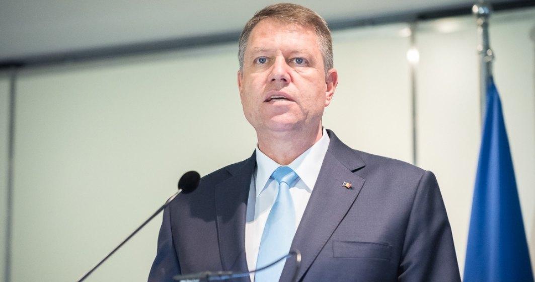 Klaus Iohannis: Doua lucruri ii sperie pe oamenii de afaceri: impredictibilitatea legislativa si spagile