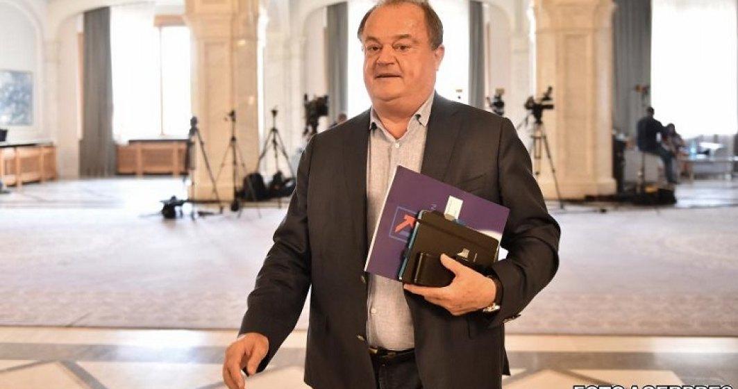 Dosarul lui Vasile Blaga, privind finantarea ilegala a fostului PDL, mutat de la instanta suprema la Tribunalul Bucuresti