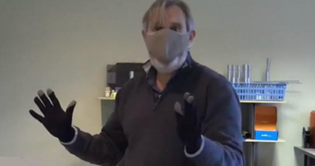 O țară din Europa a inventat mănușile anti-COVID