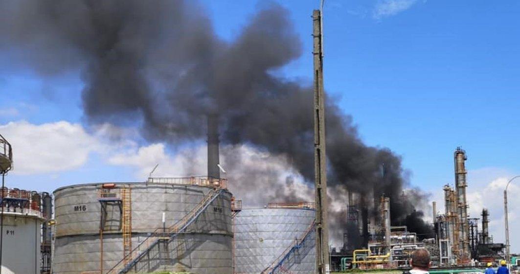 Felix Crudu-Teşloveanu, director general Rompetrol, despre incendiul de la Petromidia: A fost o conductă care s-a fisurat