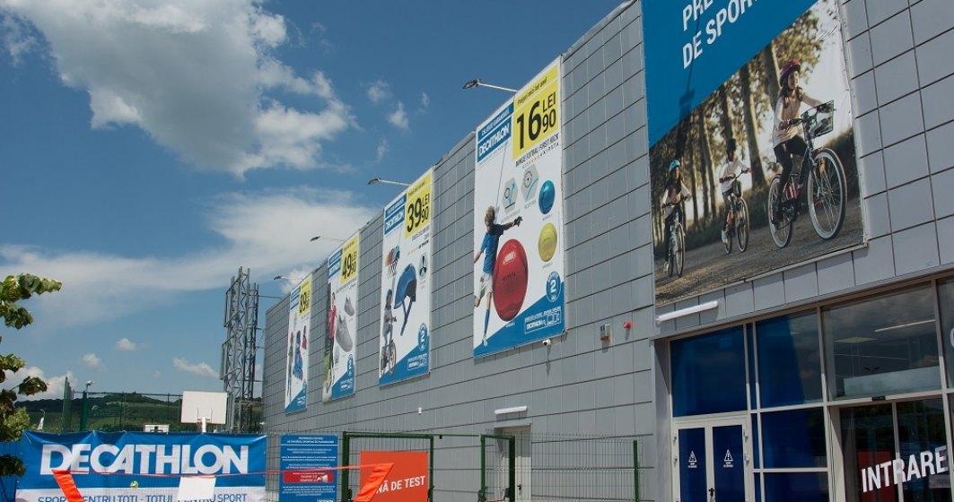Decathlon a extins magazinul din Cluj-Napoca la o suprafata de peste 4.800 metri patrati