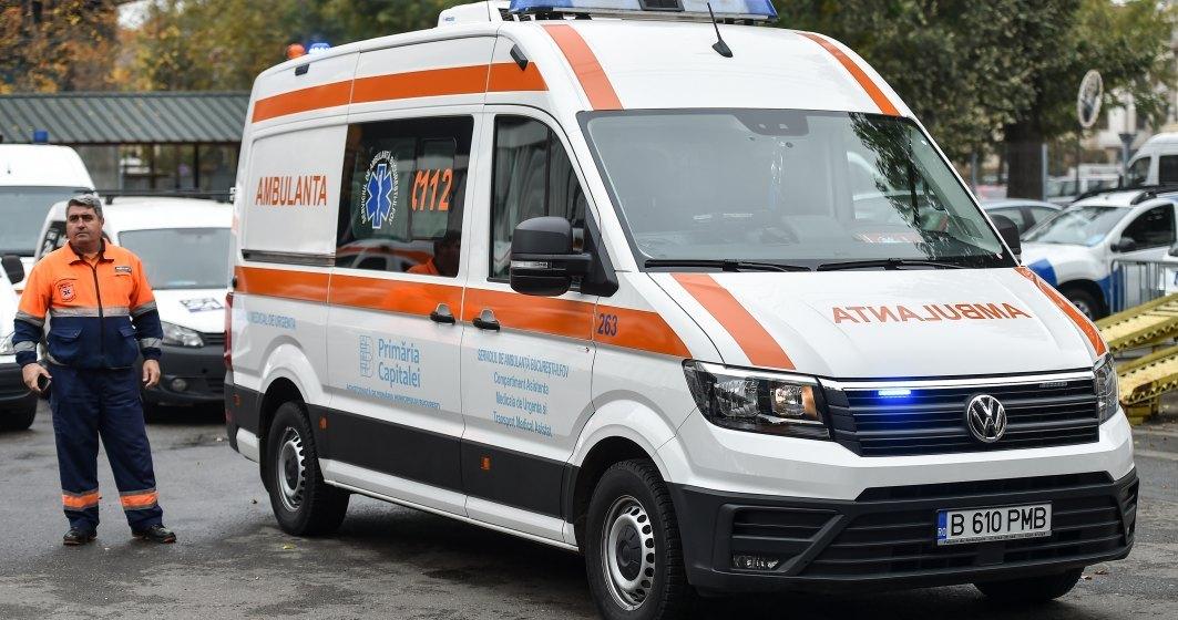 Asistent medical de la Ambulanța București, testat pozitiv cu COVID-19