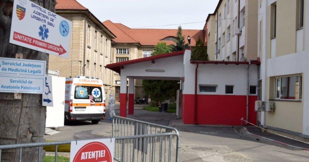 Sibiu: Niciun medic infecţionist nu s-a înscris la concursul de la cel mai mare spital cu pacienţi COVID-19