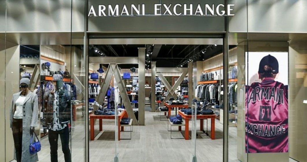 Armani Exchange a deschis primul magazin din Romania, in Baneasa Shopping City
