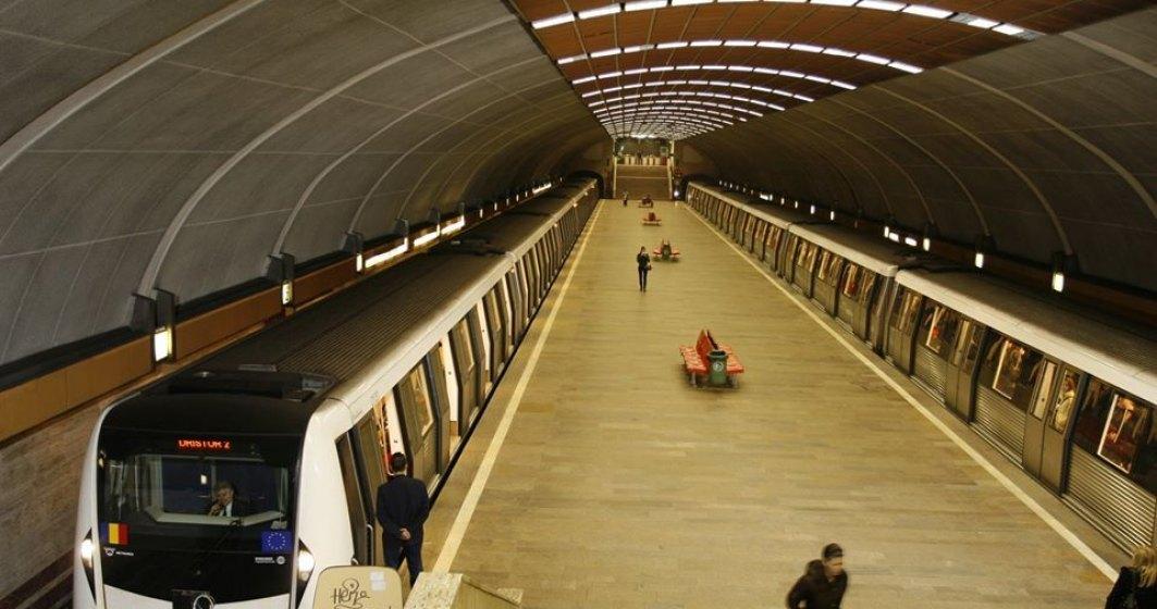 Metrorex reduce cu până la 20% numărul trenurilor de metrou în circulație