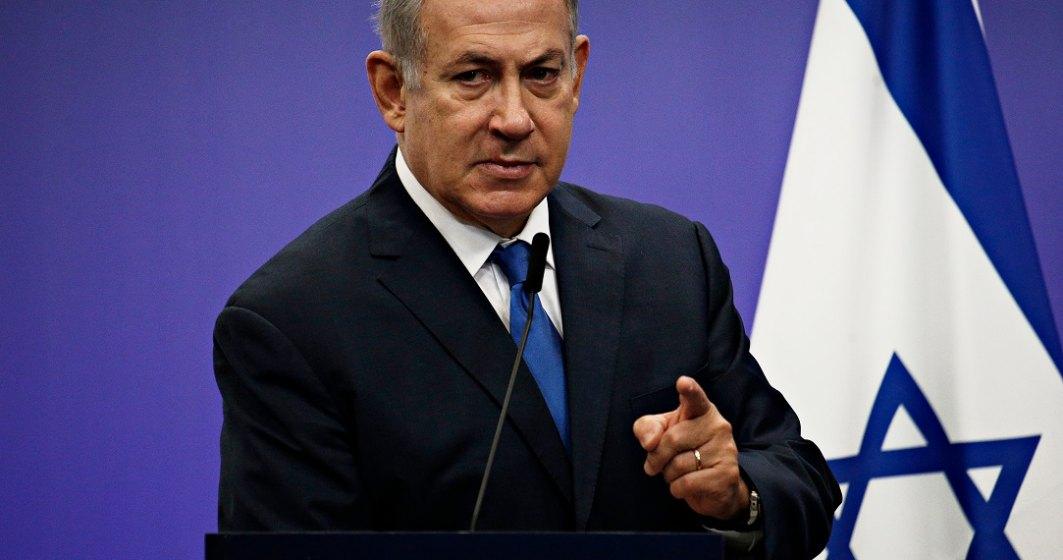 """Premierul Israelului """"promite"""" că va ataca mișcare Hamas până când va obține """"pace și securitate pentru israelieni"""""""
