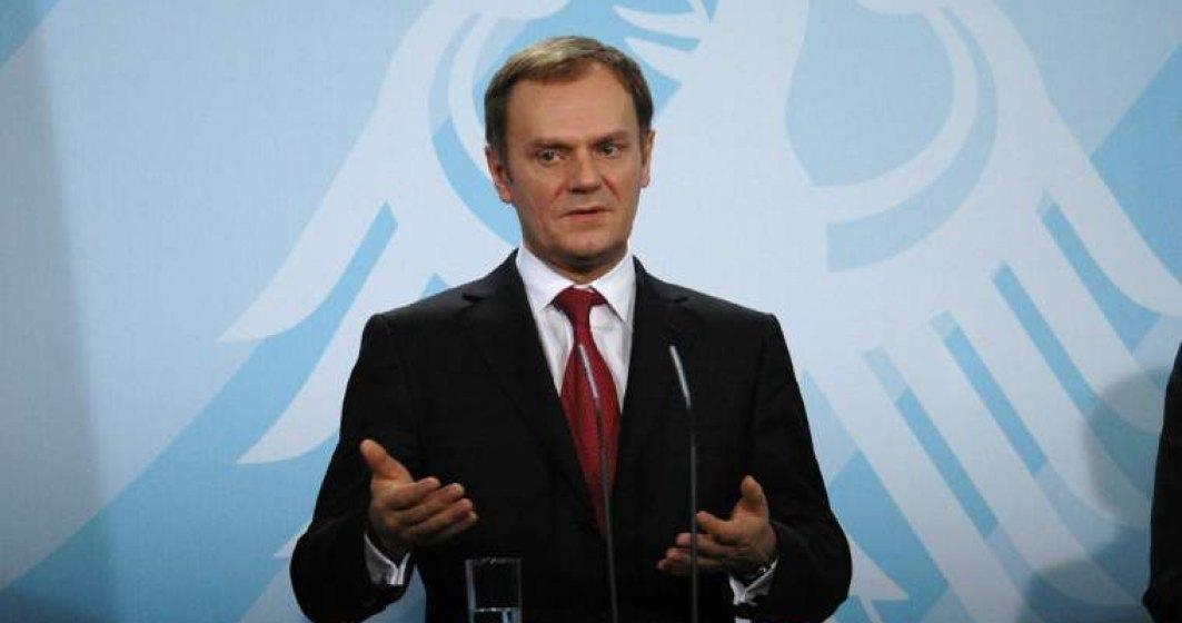 Capacitatea UE de a gazdui noi valuri de refugiati se apropie de limita, avertizeaza Tusk in China