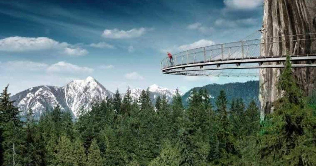 Cea mai lunga tiroliana din tara, de a Canionul 7 Scari, a fost redeschisa pentru turisti
