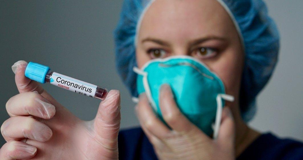 Caz grav de infectare coronavirus: bărbat de 56 de ani la terapie intensivă