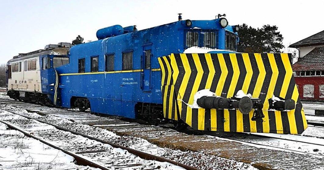CFR Calatori a anulat 120 de trenuri din cauza conditiilor meteo