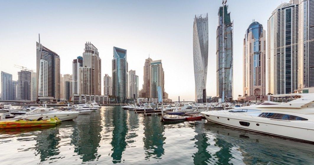 Incendiu intr-un zgarie-nori din Dubai, de la niste haine lasate in balcon la etajul 53