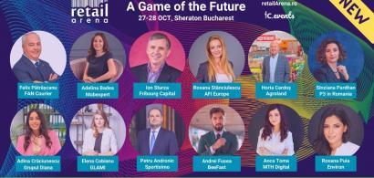Speakeri noi la retailArena: A Game of the Future - cele mai cunoscute nume...