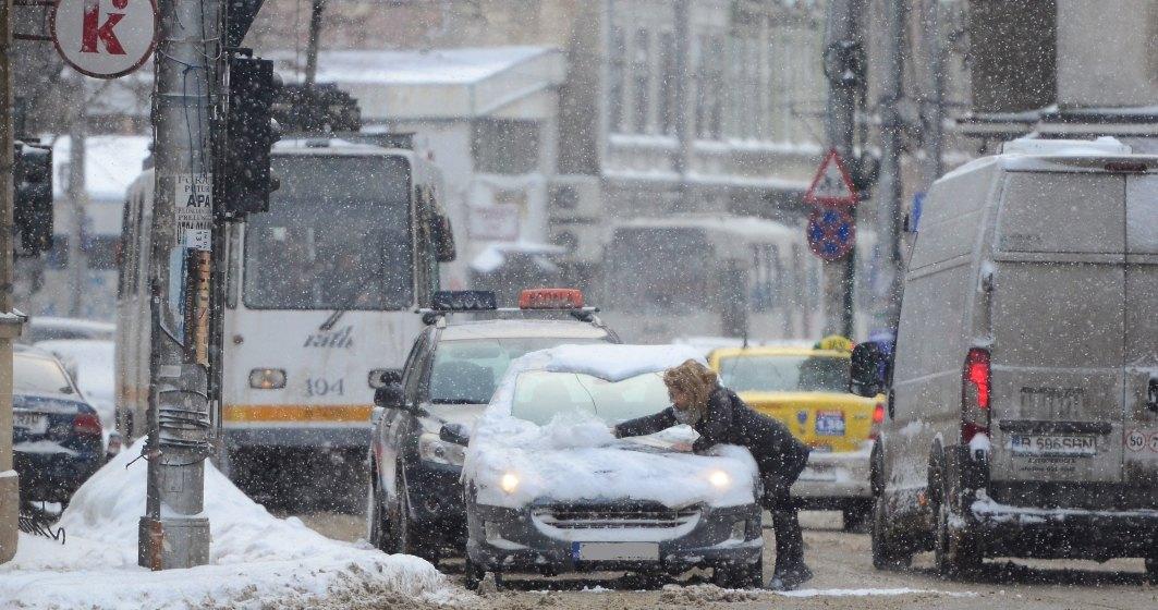 Vreme deosebit de rece la Bucuresti, temperatura maxima nu trece vineri de 2 grade; spre seara, posibil lapovita si ninsoare