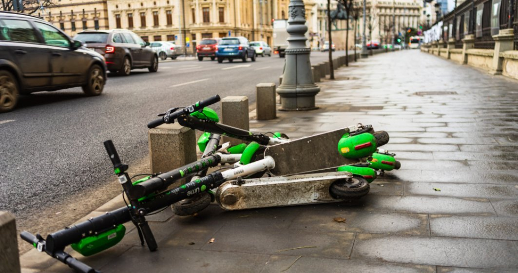 Vela: Au fost inregistrate aproape 200 de accidente rutiere cu trotinete electrice