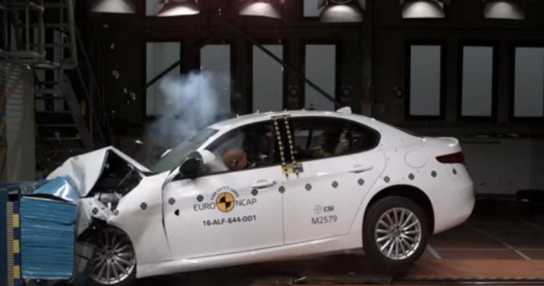 Euro NCAP a testat cinci masini noi anul acesta