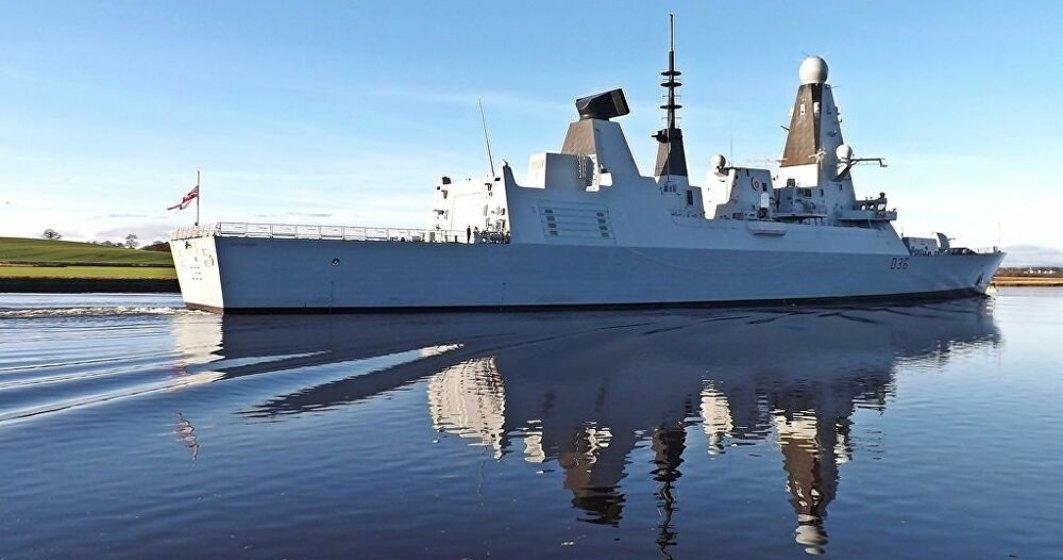 Incident armat în Marea Neagră - Rușii au tras către a navă britanică
