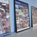 Noul sediu Flanco: Fotografii ale angajatilor, pe sigla gigant a companiei - Foto 5