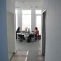 Noul sediu Flanco: Fotografii ale angajatilor, pe sigla gigant a companiei - Foto 7