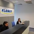 Noul sediu Flanco: Fotografii ale angajatilor, pe sigla gigant a companiei - Foto 18