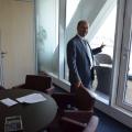 """Birou """"de austeritate"""". Cum arata noul sediu in care Borza a mutat Hidroelectrica - Foto 7"""