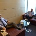 """Birou """"de austeritate"""". Cum arata noul sediu in care Borza a mutat Hidroelectrica - Foto 10"""