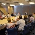"""Birou """"de austeritate"""". Cum arata noul sediu in care Borza a mutat Hidroelectrica - Foto 15"""