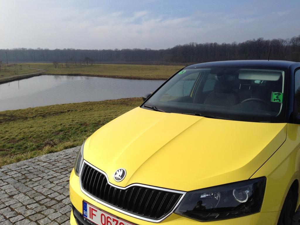 Test drive cu Skoda Fabia III, generatia fashion ajunge in Romania - Foto 1 din 12
