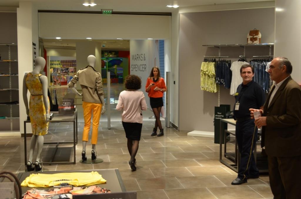 Stancu, Marks & Spencer: Vrem ca zona de food sa ne aduca minim 5-7% din business, in prima faza - Foto 1 din 33