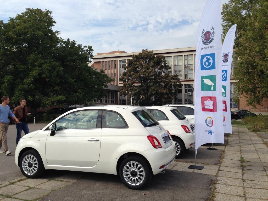 Fiat aduce in Romania primul program de car sharing pentru studenti - Foto 1 din 8