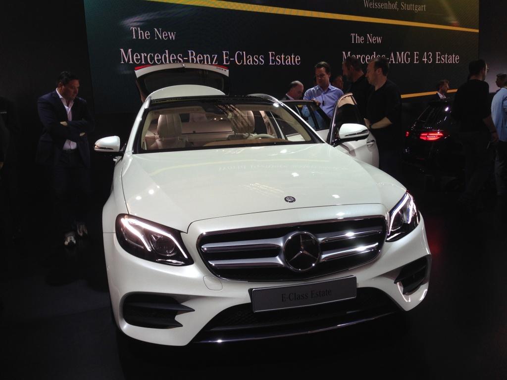 Mercedes-Benz a prezentat in premiera mondiala noua Clasa E Estate - Foto 5 din 27