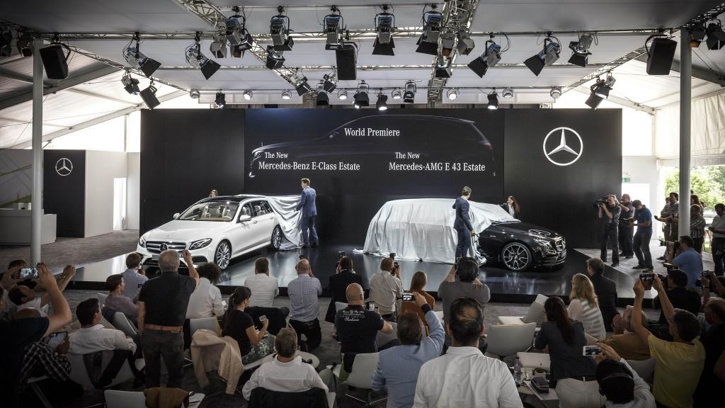Mercedes-Benz a prezentat in premiera mondiala noua Clasa E Estate - Foto 3 din 27