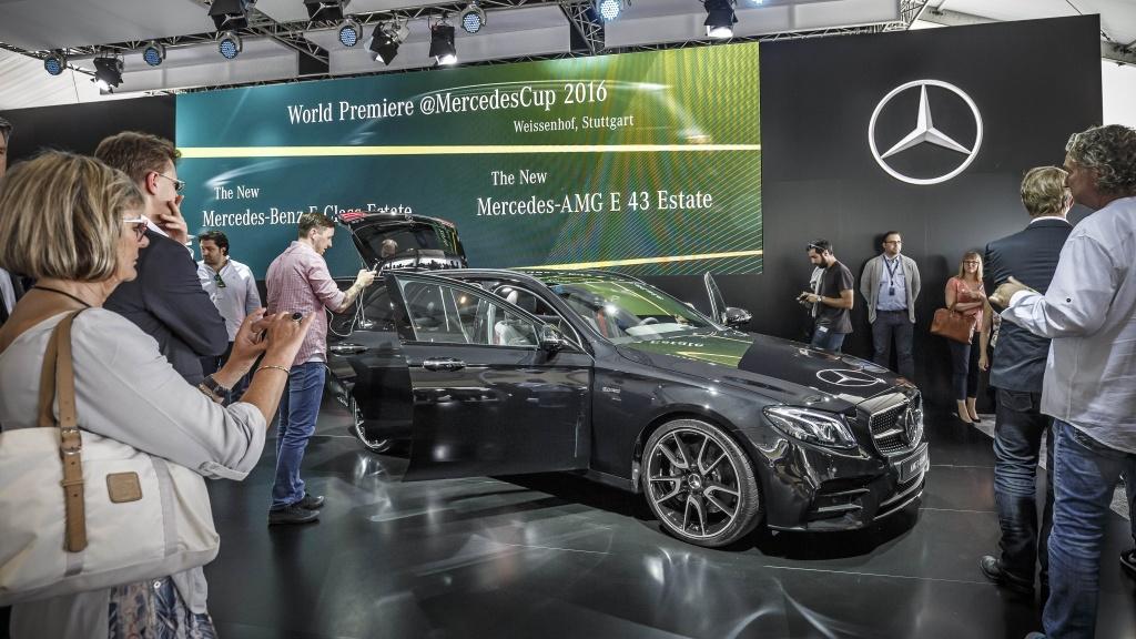 Mercedes-Benz a prezentat in premiera mondiala noua Clasa E Estate - Foto 7 din 27