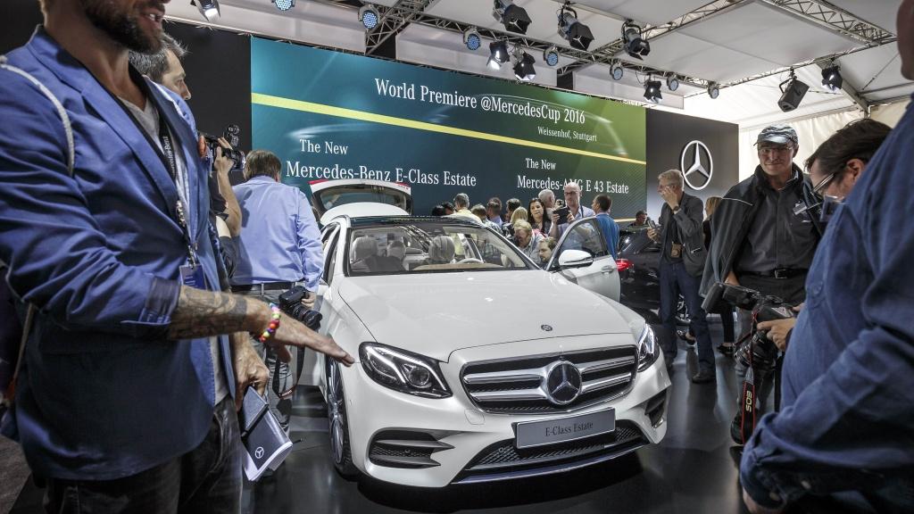 Mercedes-Benz a prezentat in premiera mondiala noua Clasa E Estate - Foto 8 din 27
