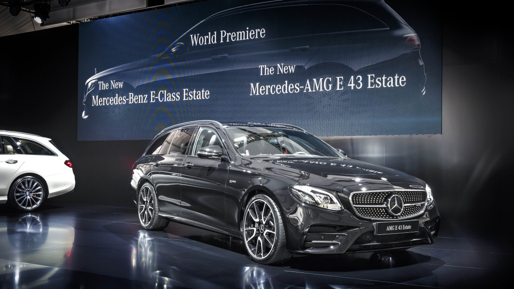 Mercedes-Benz a prezentat in premiera mondiala noua Clasa E Estate - Foto 11 din 27