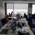 "Fotografii ""la inaltime"" din sediul Romtelecom - Foto 16"