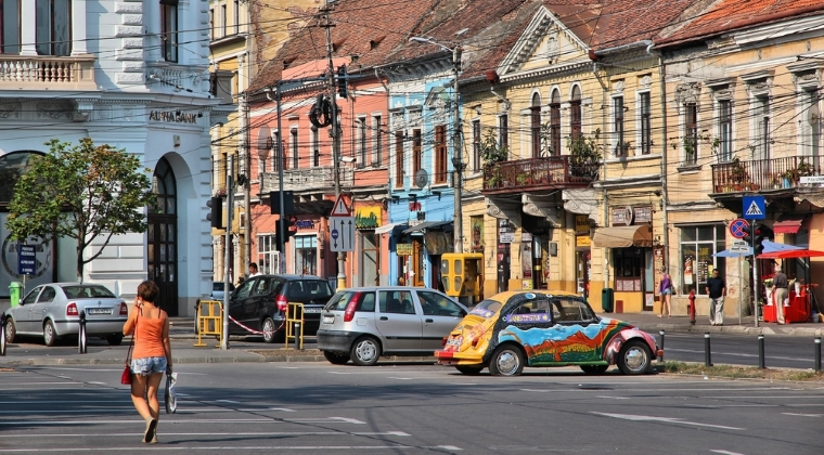 Cluj: 1.048 euro / mp