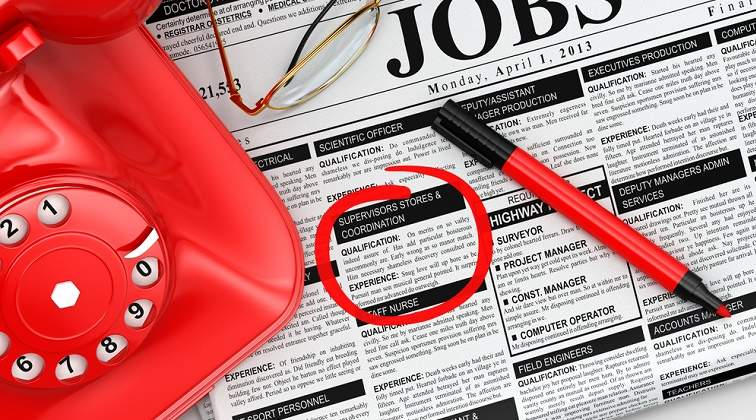 De unde ai auzit de acest job?