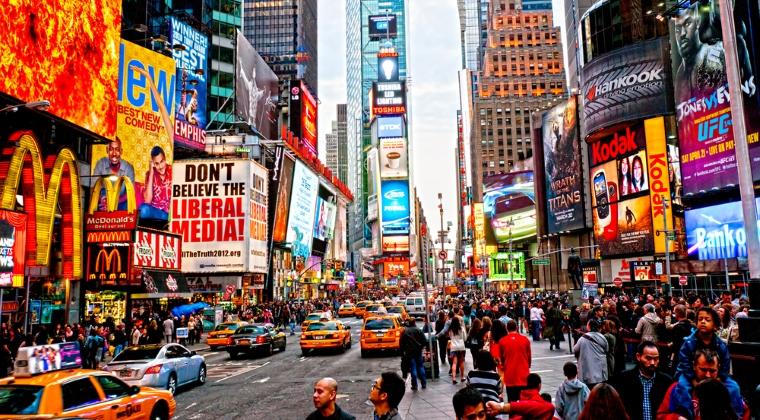 Locul 5: New York, SUA