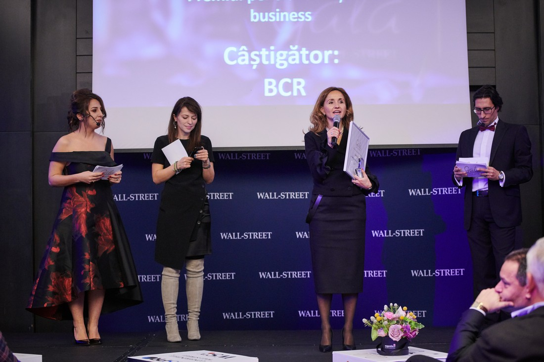 "BCR - premiul pentru ""Traditie in Business"""