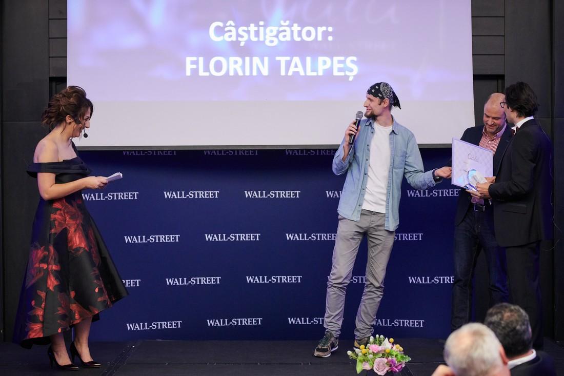 """Florin Talpes - premiul pentru """"leadership autentic"""""""