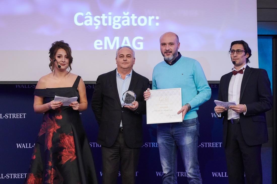 eMAG.ro - Premiul pentru etica si transparenta in afaceri