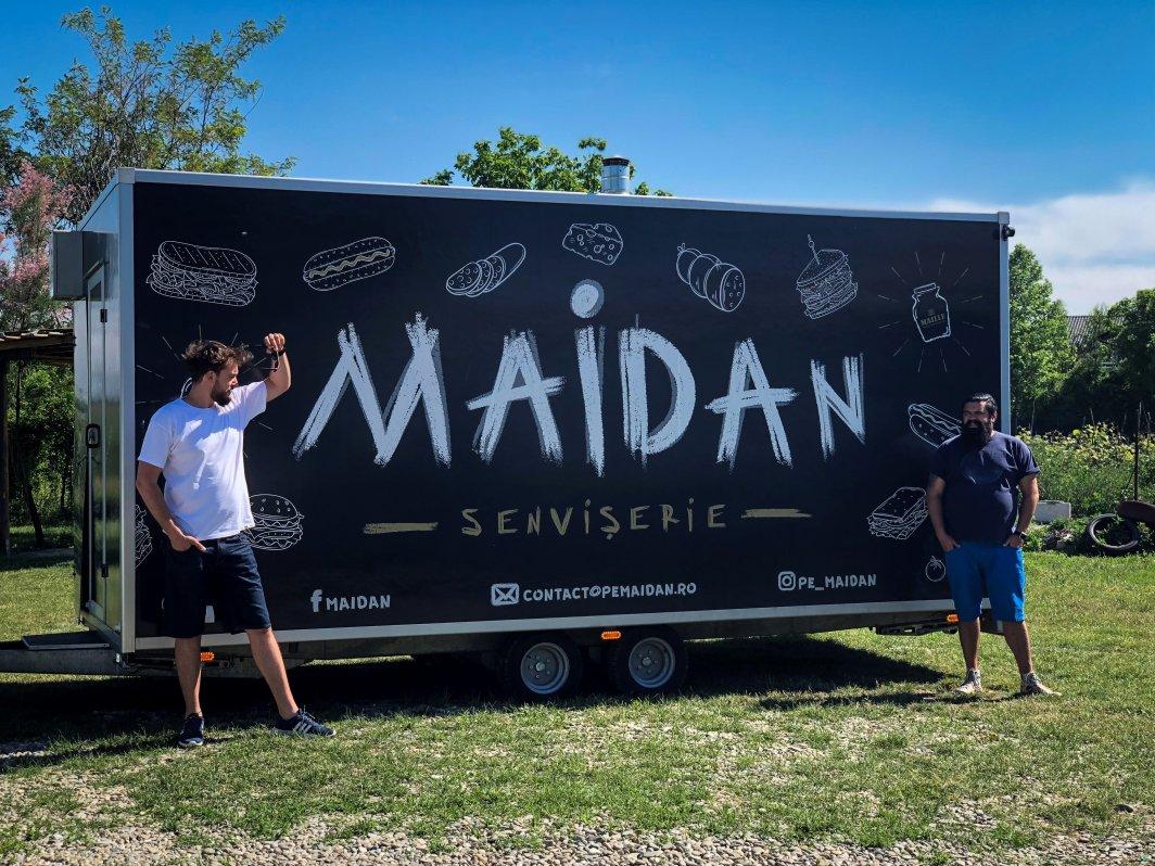 Business cu food truck-uri, povestea Maidan