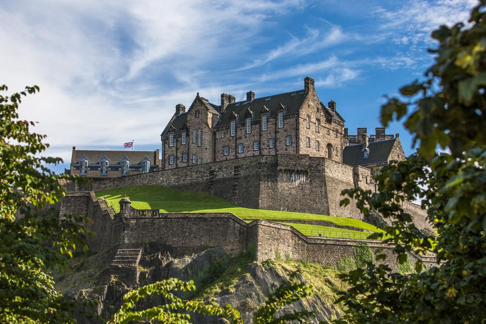 Castelul Edinburg - Scoția