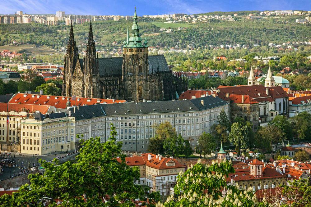 Castelul Praga - Cehia